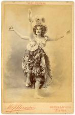 Actrice à identifier Vintage silver print. Tirage argentique