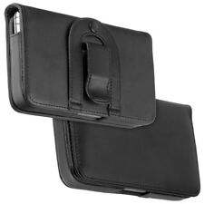 Elegante Design Quertasche black f HTC 7 Trophy Tasche