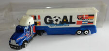 GRELL HO 1/87 CAMION SEMI TRUCK TRAILER MACK GOAL SUPER FOOTBALL MARK WORLD CUP