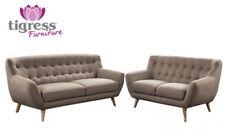 Pine 100% Linen Upholstery Fabric Sofas