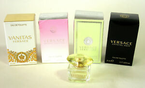 Versace 5 Pce Miniatures Collection ~ Women's Eau de Toilette Splash ~ Genuine