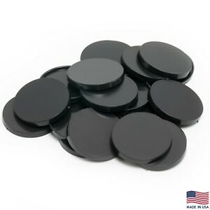 Pack of 20, 40 mm Plastic Round Bases Miniature Wargames Table Top gaming