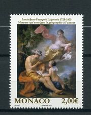Monaco 2016 estampillada sin montar o nunca montada desnudez en arte 1v Set LAGRENEE desnuda pinturas sellos