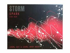 Storm Spark 100ml EDT + 150ml Body Wash Boxed Gift Set For Women