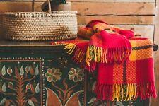 Blanket Throw Bed Sofa Fleece Cozy Plaid Soft Warm 100% Wool 130x210cm Sun Best