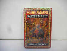 Games Workshop Warhammer Fantasy Battle Magic Daemons of Chaos Cards Set