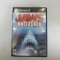 Jaws Unleashed PS2 (Sony PlayStation 2, 2006) Horror Fast Shipping