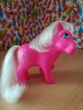 Rare Euro UK My Little pony G1 Hasbro Snowflake Retro Vintage Collectable