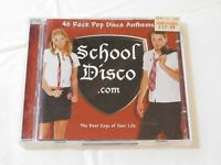 School Disco.com by Various Artists CD 40 Rock Pop Disco Anthems 2001 2 Discs