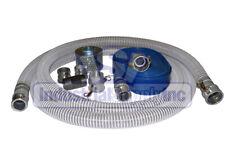 Suction Hose Pvc Clear Flexible 2 X 20 Ft Fits Honda 100 Ft Blue