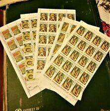 francobolli san marino foglietti interi serie completa nuovi senza linguella