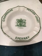 Coupelle Cendrier Champagne Perrier Jouet Epernay France French Antique