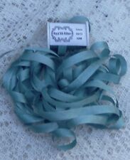"""100% Pure Silk Ribbon 1/4"""" [7 mm] Teal Color 10Yds Final Lots"""