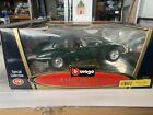 Burago E Type coupe. Die cast model 1/18 scale, boxed.