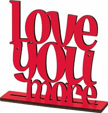 LOVE YOU MORE WOOD ART | PRIMITIVES BY KATHY