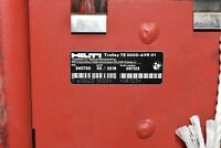 Hilti Trolley Cart for TE 3000 WITH 3 TOOLS/CHISELS