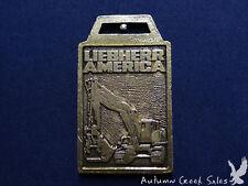 Vintage Liebherr America Newport News Va Construction Heavy Equipment Watch Fob
