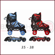 Pattini In linea a 4 Rotelle 35-38 Rollerblade Allungabili Freno Quad Bambino