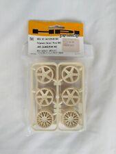 HPI Racing Micro RS4 White Wheel Set 73410 RC Part