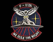 USAF Lockheed Skunk Works F-117 Nighthwak Patch Desert Storm Iraq War Stealth