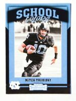 2017 Panini Contenders Draft Picks School Colors Mitchell Trubisky #4 Rookie