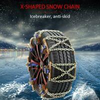 Universal Wheel Tire Snow Anti-skid Chains for Car Truck SUV Emergency Winter