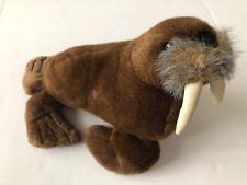 Sea World Brown Walrus Plush 16� Stuffed Animal