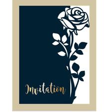 Rose Leaves border Metal Cutting Dies Scrapbook Paper Craft Decor Dies Embossing