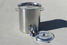 CONCORD Home Brew Kettle Welded Stainless Steel Mash Tun w/ False Bottom