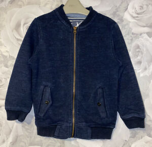 Boys Age 5 (4-5 Years) Zip Up Sweater Top