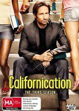 Californication : Season 3 (DVD, 2010, 3-Disc Set)  new/sealed