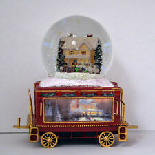 Celebrate The Season Wonderland Express Snow Globe Train #11  Thomas Kinkade