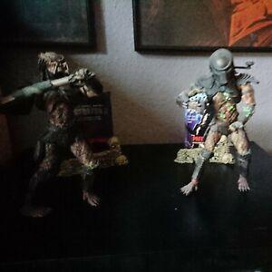 2x Predator Movie Maniacs Actionfigur /Horror /SCI-FI/Sehr Gut