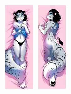 NEW Keidran Adira ( twokinds ) Dakimakura Sexy Body Pillowcase Cover 150x50CM