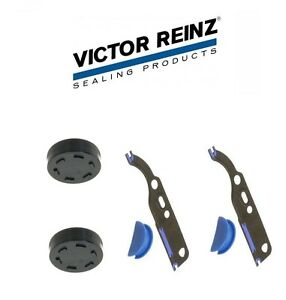 For Audi A4 A6 S4 VW Passat Set of 2 Timing Chain Tensioner Gasket Sets Reinz