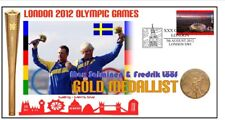 SWEDEN 2012 OLYMPIC MENS SAILING TEAM GOLD MEDAL COVER