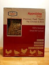 Amzey 5.5 Lb. Premium Feed, Treats for Chicken & Birds Black Soldier Fly Larvae