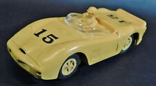 Vintage MARX Ferrari #15 1/32 Scale Slot Car