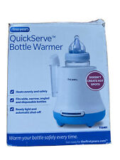 THE FIRST YEARS QUICK SERVE BOTTLE WARMER HEATS EVENLY READY LIGHT NEW OPEN BOX