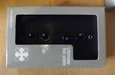 FLAT PLATE 4G TOGGLE SWITCH -MATT BLACK