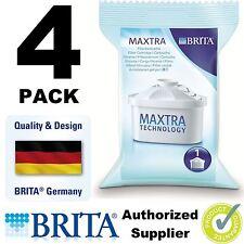 4 PACK BRITA Maxtra Nouveau Filtre eau Pichet Recharges Véritable Cartouches de rechange