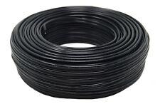 16 Gauge 100 Feet Black Stranded 2 Conductor Copper Clad Speaker Wire Car Audio
