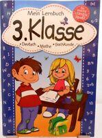 Lernbuch + Grundschule 3.Klasse + Deutsch Rechnen Sachkunde + Lernen mit Spaß +
