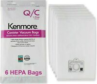 Sears Genuine 6-Pack Кеnmоrе Canister Vacuum Bags 53292 Type Q/C