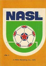 1979 Topps North American Soccer League Stickers Complete Set (1-27 +Names) NASL
