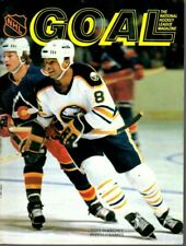 1982 2/11 Hockey Program, Tony McKegney, Buffalo Sabres @ Philadelphia Flyers~Gd