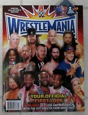2017 WRESTLEMANIA WWE Magazine Special Edition 98 PAGES Stratus + 2 POSTERS New