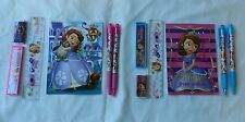 12 Disney Sofia The First Stationery Set Girls 3+ School Party Favor Bag Fillers