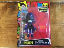 "Jazwares Teen Titans Go! Raven with Ancient Spells Book 4"" Action Figure Toy"