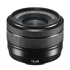 Fujifilm 15-45mm f3.5-5.6 XC OIS PZ - Black: White Box